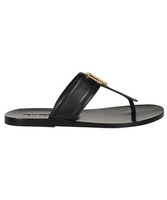 Tom Ford J1307T LCL076 SMOOTH LEATHER BRIGHTON Sandals