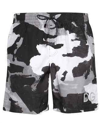 Dolce & Gabbana M4B16T HSMND CAMOUFLAGE PRINT Swim shorts