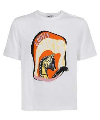 Lanvin RM TS0010 J009 E21 CAT PRINTED T-shirt