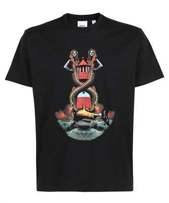 Burberry 8040683 MERMAID PRINT COTTON OVERSIZED T-shirt