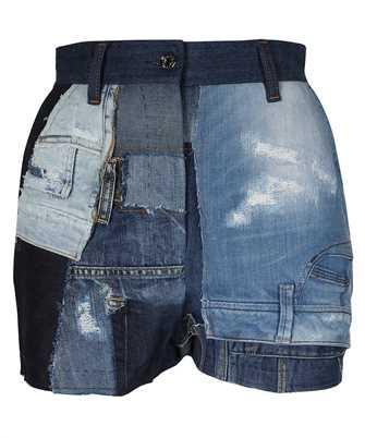 Dolce & Gabbana FTBVJD GDY73 PATCHWORK DENIM Shorts