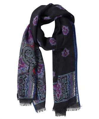 Etro 10660 4010 WOOL AND SILK PAISLEY Scarf