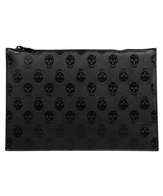 Alexander McQueen 560472 1AAAN FLAT ZIP Document case
