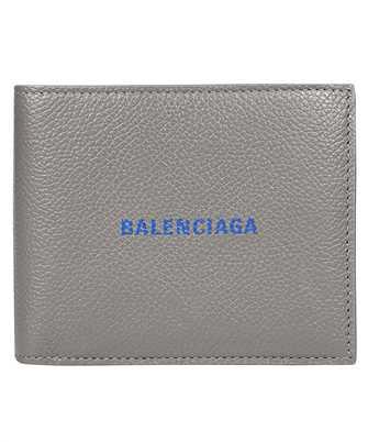 Balenciaga 594315 1IZI3 CASH SQUARE FOLDED COIN Wallet