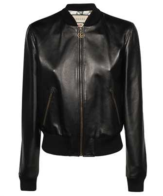 Gucci 659238 XNAOU LEATHER BOMBER Jacket