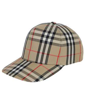 Burberry 8026929 LOGO APPLIQUÉ VINTAGE CHECK BASEBALL Cap