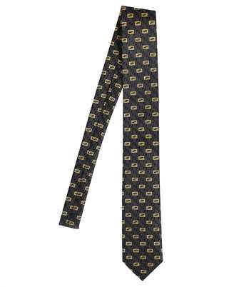 Fendi FXC023 AFY1 JACQUARD FF Tie