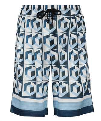Dolce & Gabbana GWK9AZ FI70J MAJOLICA PRINT JOGGING Shorts