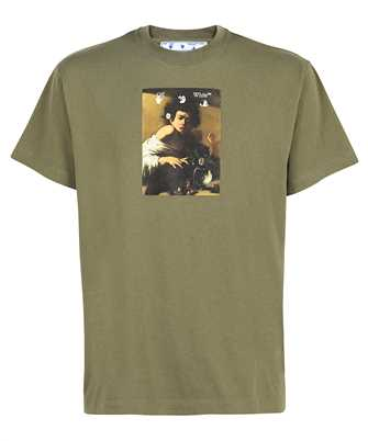 Off-White OMAA038F21JER005 CARAVAGGIO BOY S/S OVER T-shirt