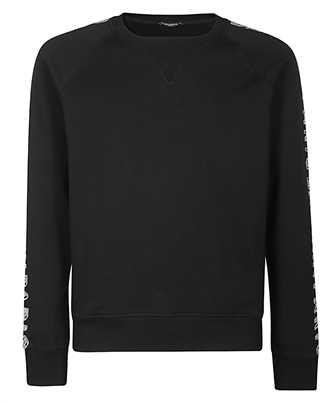 Balmain TH03279I285 PRINTED SLEEVES Sweatshirt