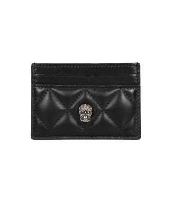 Alexander McQueen 647293 14A66 PAVE SKULL Card holder