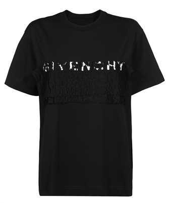 Givenchy BW707ZG0SS LACE T-shirt