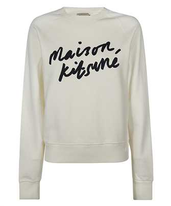 Maison Kitsune FW00335KM0001 HANDWRITING ADJUSTED Mikina