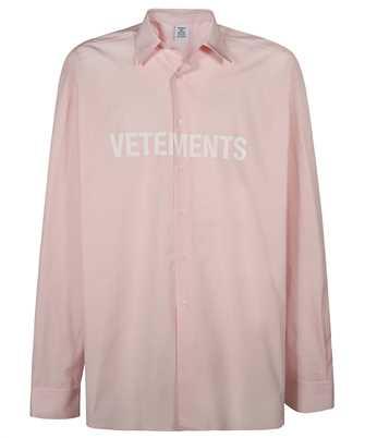 Vetements UE51SH300P FRONT LOGO Shirt