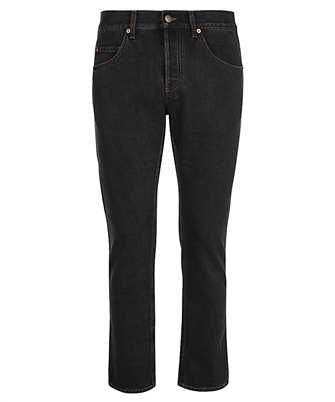 Gucci 408637 XDBK8 TAPERED ECO STONEWASHED Jeans