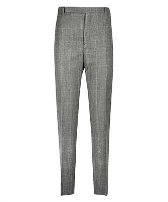 Saint Laurent 596927 Y1B54 PRINCE OF WALES FLANNEL Trousers