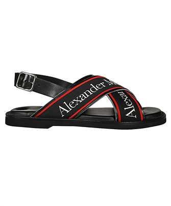 Alexander McQueen 604275 WHRWC CROSS-STRAP Sandals