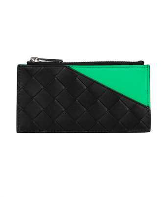 Bottega Veneta 639855 VCPQ8 ZIP CLOSURE Card holder
