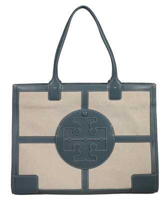 Tory Burch 73210 ELLA CANVAS QUADRANT TOTE Bag