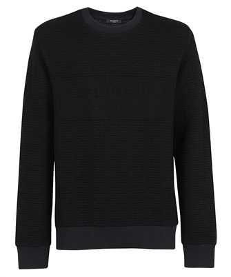 Balmain WH1JQ040J296 MONOGRAM EMBOSSED Sweatshirt