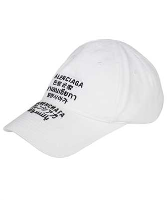 Balenciaga 641238 410B2 LANGUAGES Cap