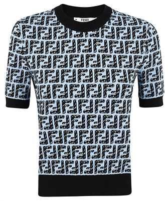 Fendi FZX550 AD5R KNIT T-shirt
