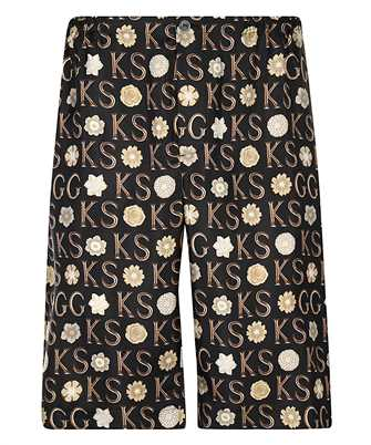 Gucci 649062 ZAGAR KEN SCOTT PRINT SILK Shorts