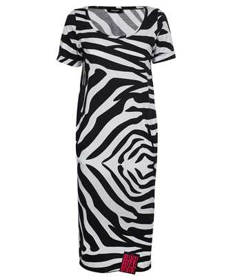 Dsquared2 S72CV0170 S23951 ZEBRA MIDI TEE Dress