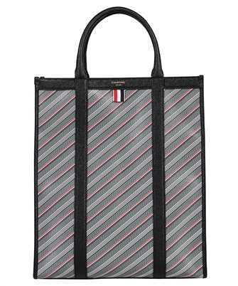 Thom Browne FAP298A 07557 VERTICAL SQUARED TOTE Bag