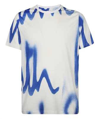 Paul Smith M1R 648U FP2689 SPRAY LOGO PRINT T-shirt