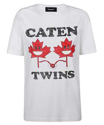 Dsquared2 S75GD0104 S22844 CATEN LEAF TWINS T-shirt