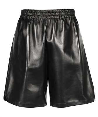 Bottega Veneta 633447 VKV90 RELAXED-FIT LEATHER Shorts