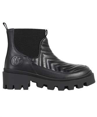 Gucci 643958 DH7D0 MATELASSÉ CHELSEA Boots