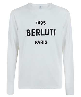 BERLUTI R19JRL52 001 EMBROIDERED LOGO T-shirt