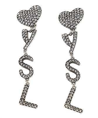 Saint Laurent 584228 Y1526 YSL HEART Earrings