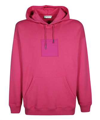 Givenchy BMJ07Y30AF GIVENCHY ADDRESS PATCH Hoodie