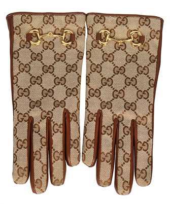 Gucci 603635 3SAAH GG CANVAS Gloves