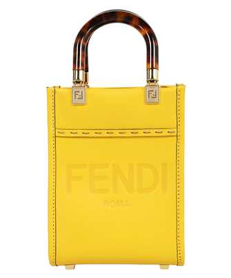 Fendi 8BS051 ABVL MINI SUNSHINE SHOPPER Bag