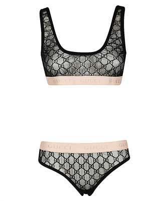 Gucci 622168 XJBVY GG EMBROIDERY Lingerie set