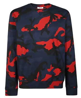 Valentino SV3MF04N3LY CAMOUFLAGE Sweatshirt
