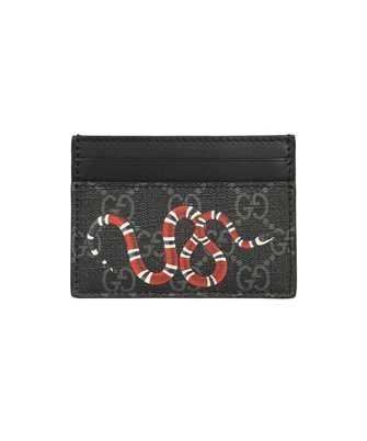 Gucci 451277 K541N GG SUPREME KINGSNAKE PRINT Card holder