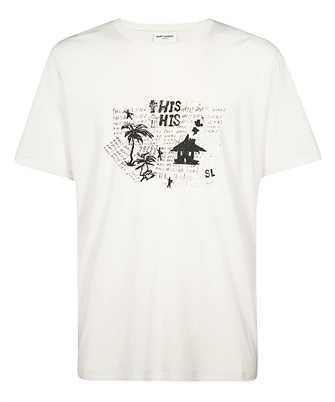 Saint Laurent 605364 YBQG2 HANGOVER T-shirt