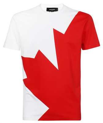 Dsquared2 S74GD0852 S23009 MEGALEAF COOL T-shirt