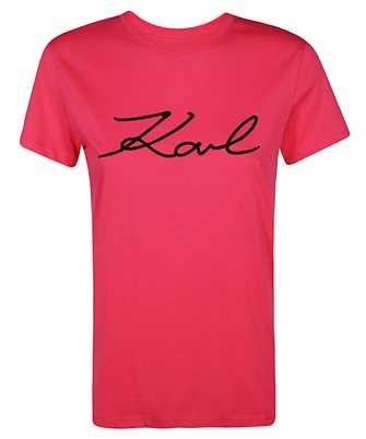 Karl Lagerfeld 206W1707 LOGO RHINESTONE T-shirt