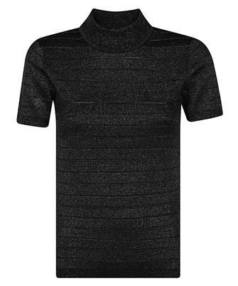 Karl Lagerfeld 210W2005 SHORT-SLEEVED SPARKLE Knit
