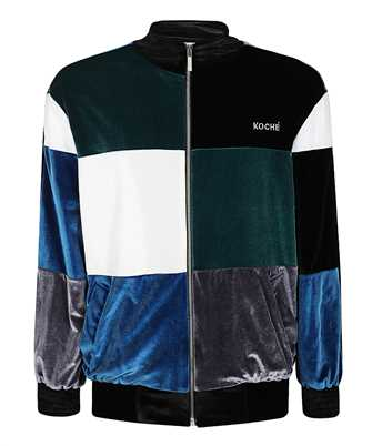 Kochè SK2AM0005 S23743 PATCHWORK-EFFECT Sweatshirt