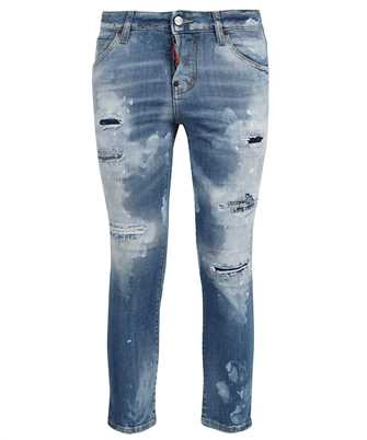 Dsquared2 S75LB0535 S30664 COOL GIRL CROPPED Jeans
