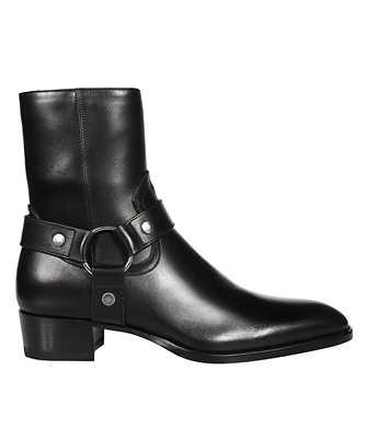 Saint Laurent 634225 1YL00 WYATT HARNESS Boots