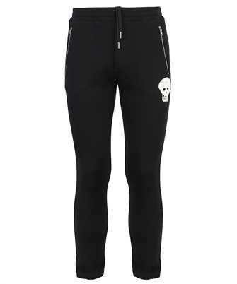 Alexander McQueen 664956 QRX43 SKULL SLIM Trousers