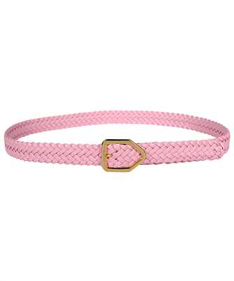 Tom Ford TB261T ICL032 WOVEN LEATHER LOZENGE BUCKLE Belt